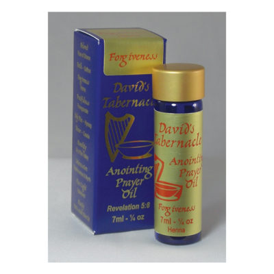 Forgiveness - Anointing Oil - Store - Watchmen Arise International - Kim Johnson