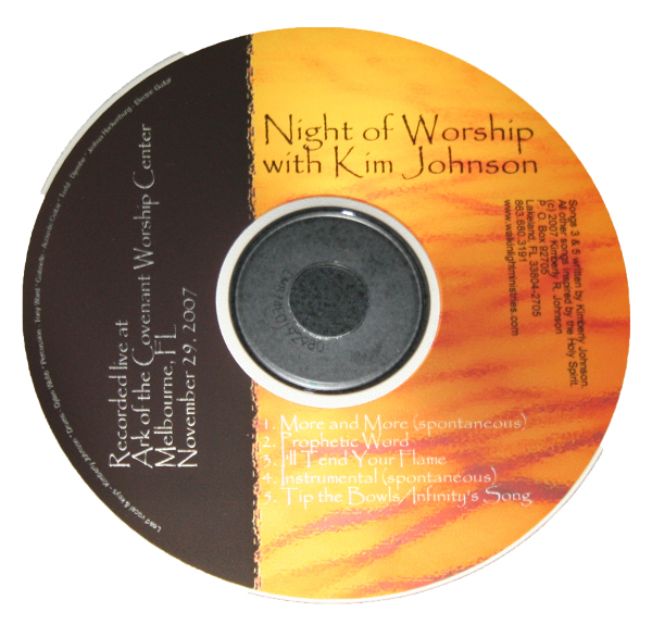 Night of Worship - Store - Watchmen Arise International - Kim Johnson