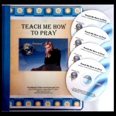 Teach Me How to Pray - Store - Watchmen Arise International - Kim Johnson