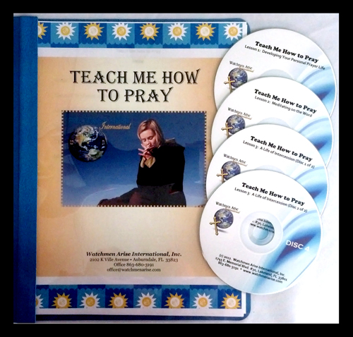 Teach Me How to Pray - Store - Watchmen Arise International - Kim Johnson