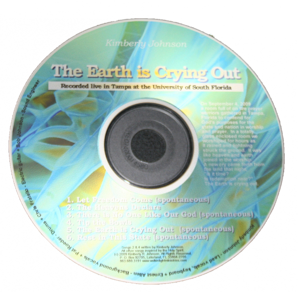The Earth is Crying Out - Store - Watchmen Arise International - Kim Johnson