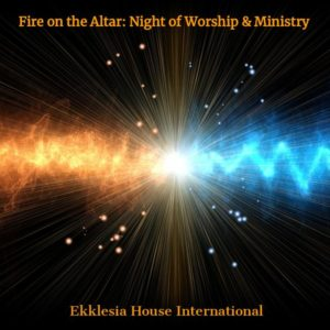 Fire on the alter - Store - Watchmen Arise International - Kim Johnson