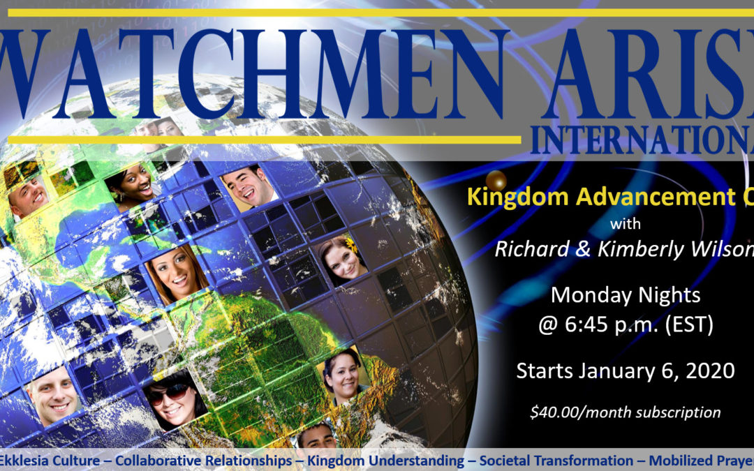 NEW WEEKLY CALL! Kingdom Advancement Call with Richard & Kimberly Wilson